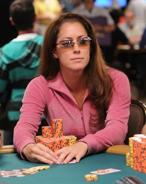 Will Nichoel Peppe claim the 2009 WSOP Last Woman Standing Cup (TM)?