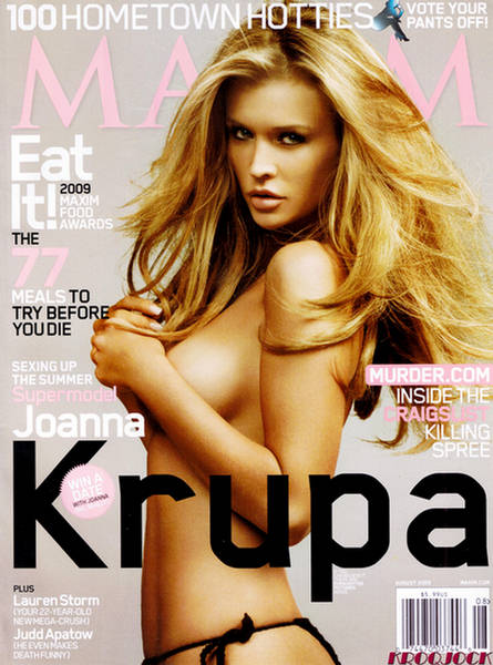 The original Official Wicked Chops Poker Girl, Joanna Krupa, has been everywhere recently.