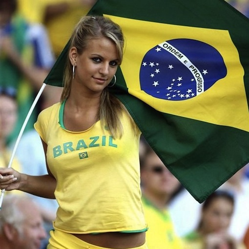Maybe a WCP &quot;Girls in the Stands&quot; feature during the World Cup? God bless the brazilians.